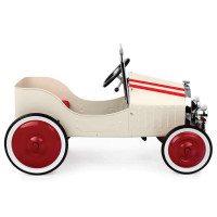 Baghera - Pedal Car White